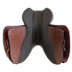 Housse selle Forestier doublée mouton
