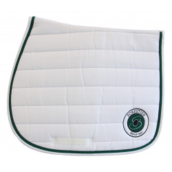 Tapis jumping blanc Forestier. 100% coton.