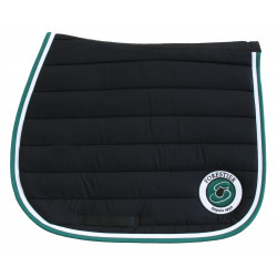 Tapis jumping noir Forestier. 100% coton.
